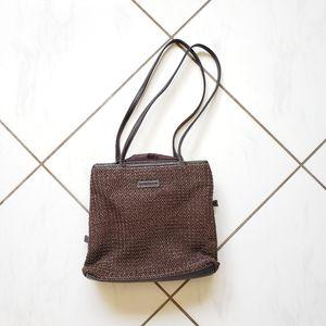 Frankie Johnnie 💜 Vintage Wove Purse Shoulder Bag
